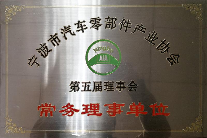 宁波汽车零部件协会副理事单位
