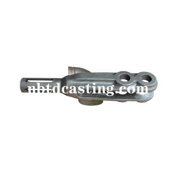 连接杆水玻璃精密铸钢件