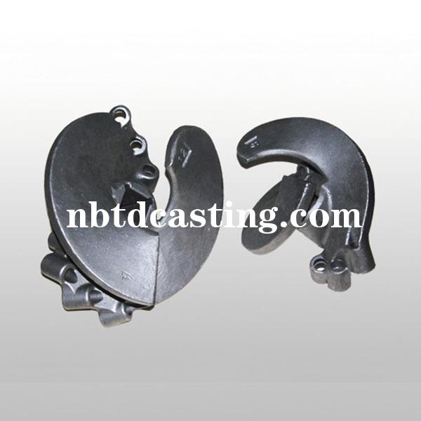 螺旋钻水玻璃合金钢铸件